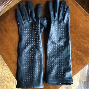 Studded Leather gloves | Neiman Marcus for Target